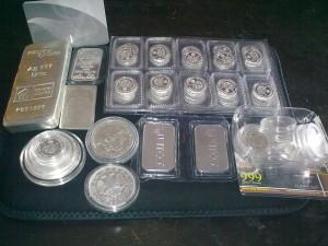 Koleksi simpanan perak (silver)