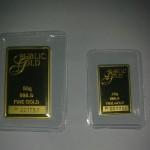 Gold Bar 50g dan 20g Public Gold