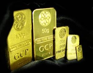 koleksi emas bar gcp
